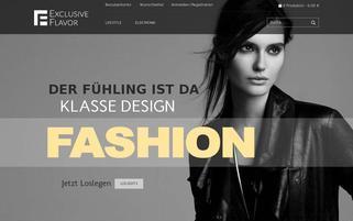 exclusiveflavor.com Webseiten Screenshot