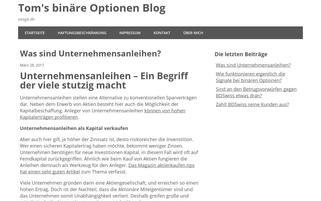 exoga Webseiten Screenshot