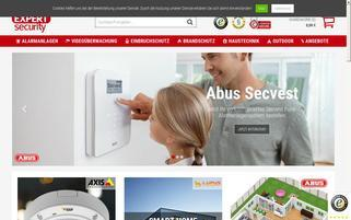 expert-security.de Webseiten Screenshot