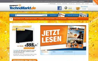 Expert Technomarkt Webseiten Screenshot