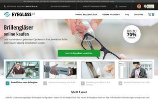 eyeglass24 Webseiten Screenshot