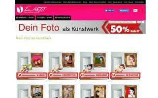 Face-Arts Webseiten Screenshot