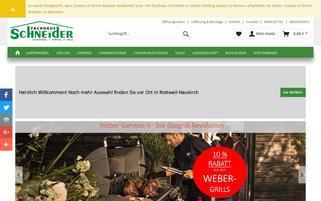 fachhaus-schneider.de Webseiten Screenshot