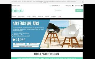 Faibels Webseiten Screenshot