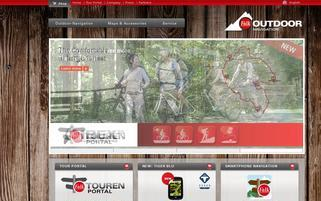 falk-outdoor.com Webseiten Screenshot
