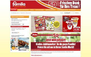 famila-nordwest24.de Webseiten Screenshot