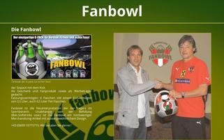 fanbowl Webseiten Screenshot