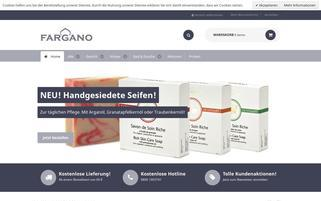 Fargano Webseiten Screenshot