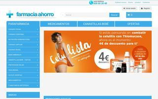 farmaciaahorro.com Webseiten Screenshot