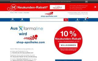 farmaline Webseiten Screenshot