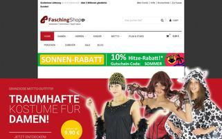 Faschingshop24 Webseiten Screenshot