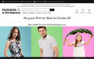 Fashion ID Webseiten Screenshot