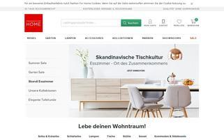 fashion4home.de Webseiten Screenshot