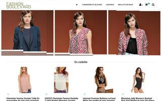 fashionboulevard.fr Webseiten Screenshot