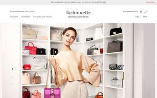 fashionette.de Webseiten Screenshot