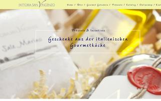 fattoriasanvincenzo.de Webseiten Screenshot