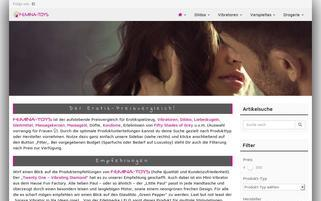 Femina-Toys Webseiten Screenshot