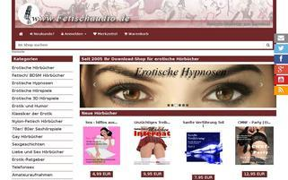Fetischaudio Webseiten Screenshot