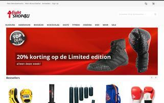 FightShop4u Webseiten Screenshot
