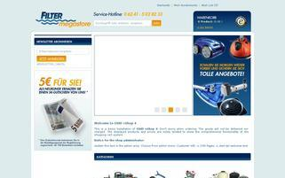 Filtermegastore Webseiten Screenshot