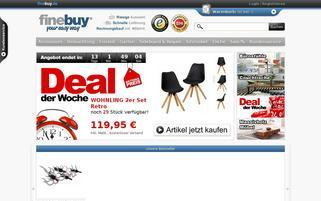 FineBuy Webseiten Screenshot