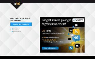 Fiotel Webseiten Screenshot