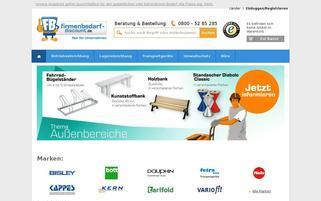 Firmenbedarf Discount Webseiten Screenshot