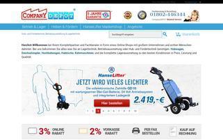 FirmenDEPOT Webseiten Screenshot