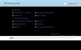 firstway.de Webseiten Screenshot