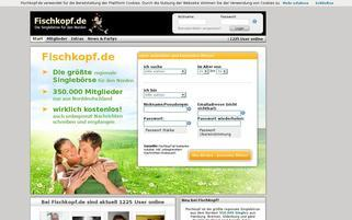 Fischkopf Webseiten Screenshot