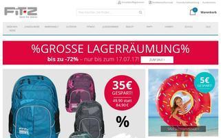 FIT-Z Webseiten Screenshot