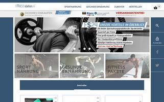 fitness-station24.com Webseiten Screenshot
