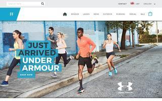 FitnessFootwear Webseiten Screenshot
