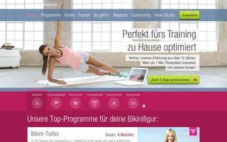 fitnessRAUM.de Webseiten Screenshot