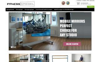fitnessspiegel.de Webseiten Screenshot