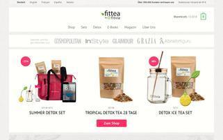 Fittea Webseiten Screenshot