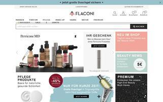 Flaconi Webseiten Screenshot