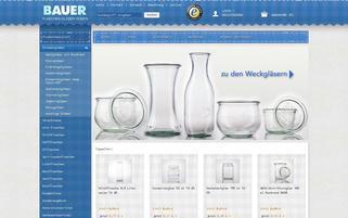 Flaschenbauer Webseiten Screenshot