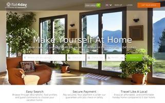 Flat4Day Webseiten Screenshot