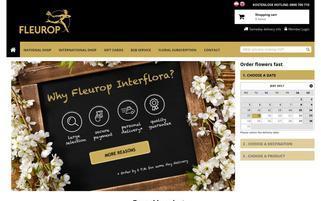 Fleurop Österreich Webseiten Screenshot