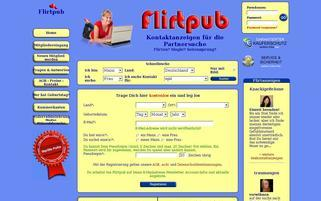 Flirtpub Webseiten Screenshot