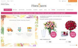 FloraQueen Webseiten Screenshot
