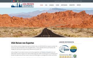 Flug-Urlaub-Reisen Webseiten Screenshot