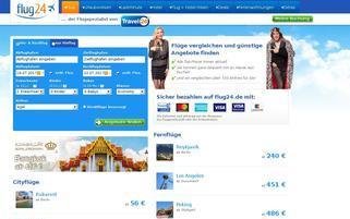 Flug24 Webseiten Screenshot