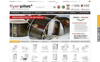 flyerpilot Webseiten Screenshot