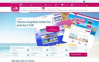 flyloco Webseiten Screenshot