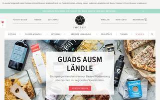 Foodist Webseiten Screenshot