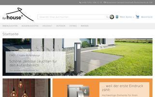 Forhouse Webseiten Screenshot