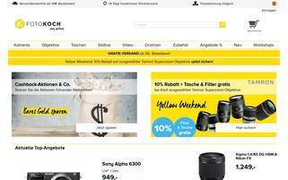 Fotokoch Webseiten Screenshot