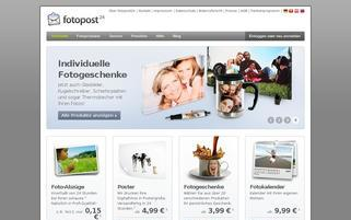 Fotopost24 Webseiten Screenshot